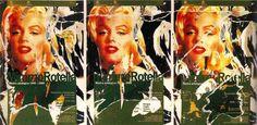 Mimmo Rotella, Omaggio a Marilyn, seridécollage, 70x100 cm Il seridécollage, con gli strappi fatti a mano, riproduce il manifesto di una mostra antologica dedicata all'attrice Marilyn Monroe, icona preferita di Mimmo Rotella. Presenta la firma dell'artista in basso a destra, la sigla P. A. (prova d'autore) e il timbro della Fondazione Mimmo Rotella in basso a sinistra. http://milanoarte.biz/index.php/mimmo-rotella/mimmo-rotella-diabolik-seridecollage-70x100-cm-467.html