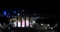 Nit d'estiu a la fresca _ Barcelona _ Fonts de Montjuïc