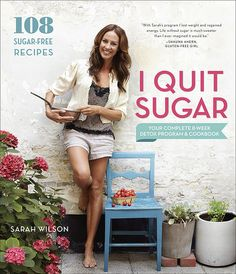 I Quit Sugar... this has a lot of coconut recipes. So if coconut is not your thing may be difficult.