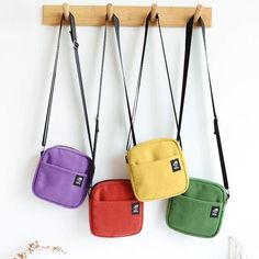 Soft Wool Pouch Bag : Material Wool Lining Material Cotton Size 16 x 16 x 3 cm Strap Length 58 cm Backpack Purse, Pouch Bag, Coin Purse, Korean Bags, Aesthetic Bags, Diy Bags Purses, Bags For Teens, Side Bags, Small Bags