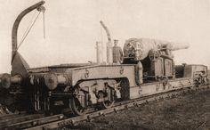 The Old Hartley railway gun in 1914 | Flickr - Photo Sharing!