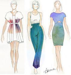 35245f641 Las 97 mejores imágenes de diseño de moda en 2016 | Disenos de unas ...