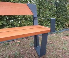 Guyon Banc Legna Bois Metal / Guyon LEGNA Timber Metal Bench · Street  FurnitureBenchesFurniture DesignFurniture