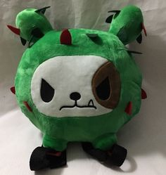 TOKIDOKI Cactus Friends Bastardino PLUSH BACKPACK Green New #TokiDoki