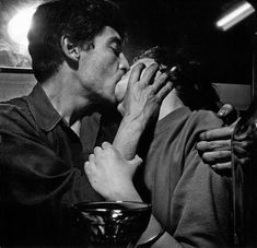 """Nan Goldin writes about the photographer Ed van der Elsken's classic book """"Love on the Left Bank,"""" which depicts life in Paris. Robert Mapplethorpe, Robert Doisneau, Arte Jazz, Exposition Photo, Beatnik, Cute Couples, Summer Couples, Teen Couples, Young Couples"""