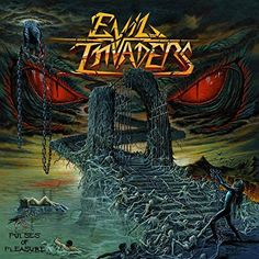 Band: Evil Invaders Titel: Pulses Of Pleasure Label: Napalm Records VÖ: Februar 2015 Genre: Speed-/Thrash-/Heavy Metal Bewertung: Written by: Lazer Dark Artwork, Metal Artwork, Cool Things To Buy, Things To Come, Stuff To Buy, Musica Heavy Metal, Records For Sale, Band Photography, Horror Posters