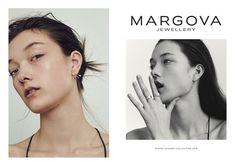 Yumi Lambert in Margova Jewellery spring summer 2016 lookbook