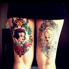 snow white and alice