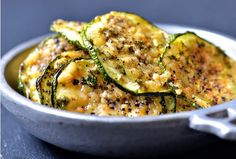 Baked Zucchini Chips With Black Pepper And Parmesan - http://www.wholesomehealthtips.com/baked-zucchini-chips-with-black-pepper-and-parmesan/ #health #diet #fitness #LoseWeight #workout #happiness