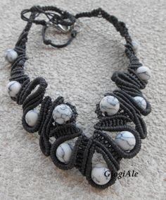 Macrame necklace by GiogiAle