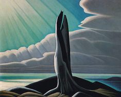LawrenHarris-North-Shore-Lake-Superior-1926 - We have this print in the Gallery Shop www.artgalleryofalgoma.com