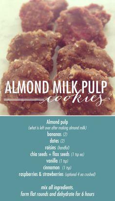 Best Almond Pulp Cookies Ever!!