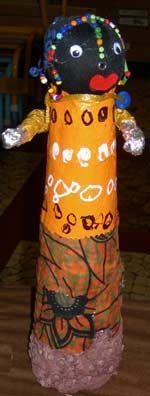 fabrication poupées africaines
