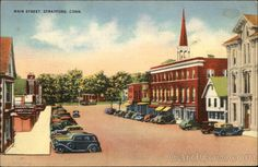 Main Street. Stratford Connecticut