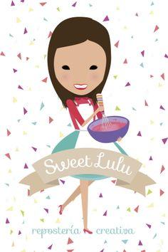http://lafabricademariana.com/portfolios/diseno-de-la-imagen-de-sweet-lulu/ diseño e ilustración de Yoana Figueras para sweet lulu