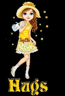 Yellow Girl Hug