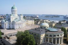 Helsinki is the capital of Finland. It is an old city but with modern renovations. Helsinki was established in the century and became the capital of Finland in. Countries Around The World, Around The Worlds, Beautiful Buildings, Beautiful Places, Places To Travel, Places To Visit, Tourist Places, Grands Lacs, Visit Helsinki
