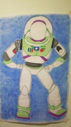 Manta Buzzlightyear  ToyStory Dibujo Fiesta Cumpleaños