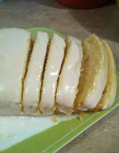 Starbucks Lemon Loaf.