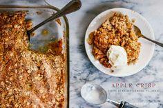 Apple crisp recipe - a seasonal favorite!  #deartopshop