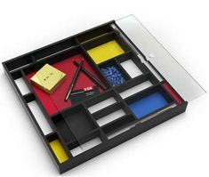 Mondrian Desk Tray