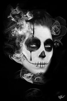 FANTASMAGORIK® MEXICAN SKULL G. by obery nicolas, via Behance