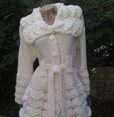 Learn how to make this beautiful mostly worked in crochet - Work in Crochet