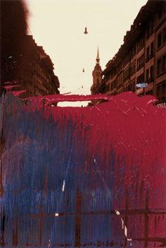 Abstract Landscape Photography Gerhard Richter 43 Ideas For 2019 Watercolor Landscape, Abstract Landscape, Landscape Paintings, Abstract Art, Artistic Photography, Landscape Photography, Art Photography, Contemporary Landscape, Urban Landscape