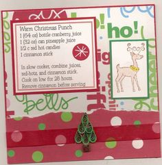 recipe card by wildwolf7 - Cards and Paper Crafts at Splitcoaststampers