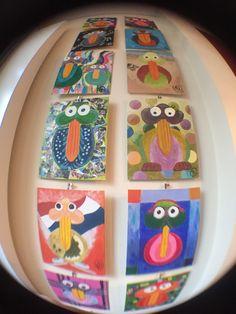 Birdymarble Tuesday 15-12-2015; New Birds today; #M08PinkBirdBerry and #M30Cornflakesbird