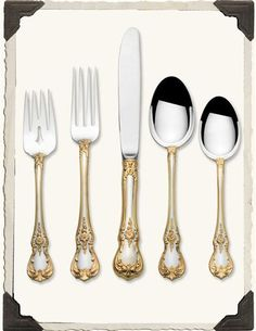 Towle Silversmiths Grand Baroque Cutlery