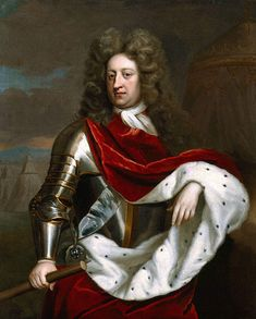 George, Prince of Denmark consort of Queen Anne. (Daughter of James II, last of the Protestant Stuart dynasty).