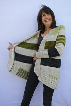 knit / knitting pattern BlueSand by La Maison Rililie: FO by knitcou2ure on ravelry