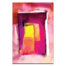 Watercolor Abstraction 212 by Kathy Morton Stanion Painting Print on Canvas