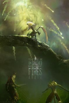 """Dragon Age Inquisition """"None shall be untouched by the fires above."""""""