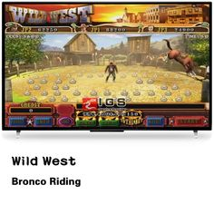 Astro Wild West Slot Board