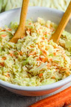 Ulubiony coleslaw w 5 minut składników) - Wilkuchnia
