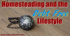 Homesteading And The Debt Free Lifestyle   Suburban Steader
