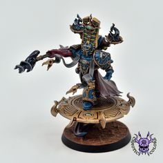 Thousand sons (Tzeentch) - Exalted Sorcerer #ChaoticColors #commissionpainting #paintingcommission #painting #miniatures #paintingminiatures #wargaming #Miniaturepainting #Tabletopgames #Wargaming #Scalemodel #Miniatures #art #creative #photooftheday #hobby #paintingwarhammer #Warhammerpainting #warhammer #wh #gamesworkshop #gw #Warhammer40k #Warhammer40000 #Wh40k #40K #chaos #warhammerchaos #warhammer40k #tzeentch #thousandsons #ExaltedSorcerer