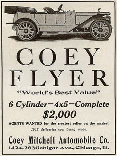 1912 Coey Michell