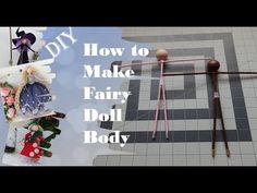 Fairy Dolls, Diy Doll, Wire, Fairy Gardens, Fairies, Diy Ideas, Youtube, Angels, Channel