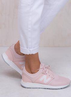 new balance 247 pink white