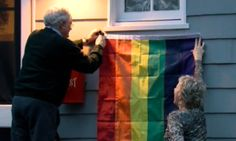 Mike Pence's Neighbors Are Trolling Him With Rainbow Flags | The Huffington Post