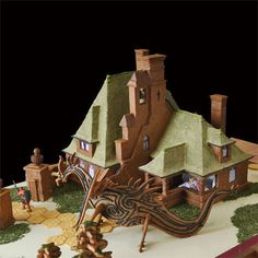 TOH's 2011 Gingerbread House Contest Finalist: Bayside Gatehouse by Rebecca W in Potsdam, NY