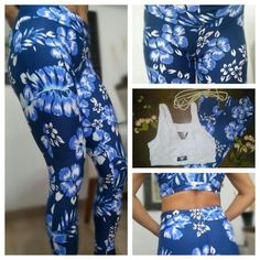 Calça legging fitness Suplex Estampa Floral. www.candyshape.com.br
