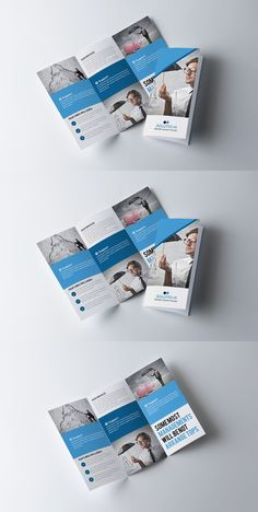 Medical clinic banner card flyer template design medical business trifold brochure template reheart Choice Image