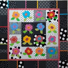 "Simply Color — A Free Downloadable Pattern..This finished quilt is 44"" x 44"".This quit was featured in an article in American Patchwork & Quilting a few years ago."