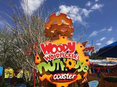 Woody Woodpecker's Nuthouse Coaster is a kid-friendly roller coaster in Universal Studios Florida. Learn about the height, speed, and ride of this coaster. Universal Studios Rides, Universal Studios Florida, Woody Woodpecker, Roller Coaster, Orlando, Coasters, Fan, Christmas Ornaments, Holiday Decor