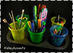 Kids Craft Supplies Storage