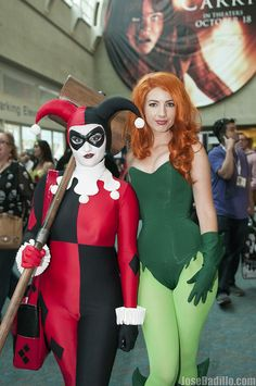 Harley Quinn and Poison Ivy | SDCC 2013